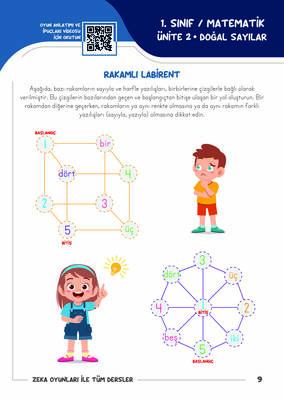 1. Sınıf Zeka Oyunlarıyla Tüm Dersler