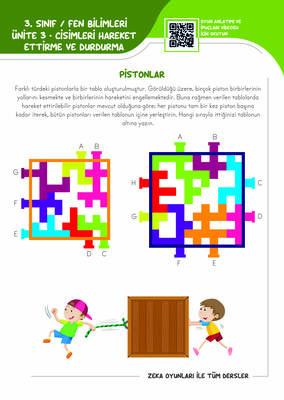 3. Sınıf Zeka Oyunlarıyla Tüm Dersler